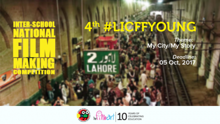 Open now: 4th LICFF Young Filmmaking Competition