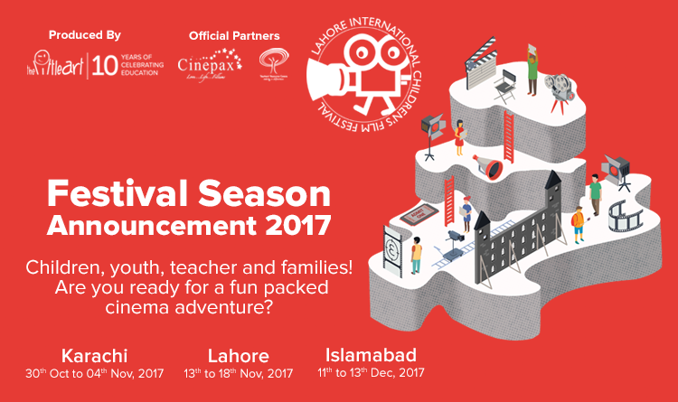 Season 2017 – International Children's Film Festivals in 3 Cities across Pakistan
