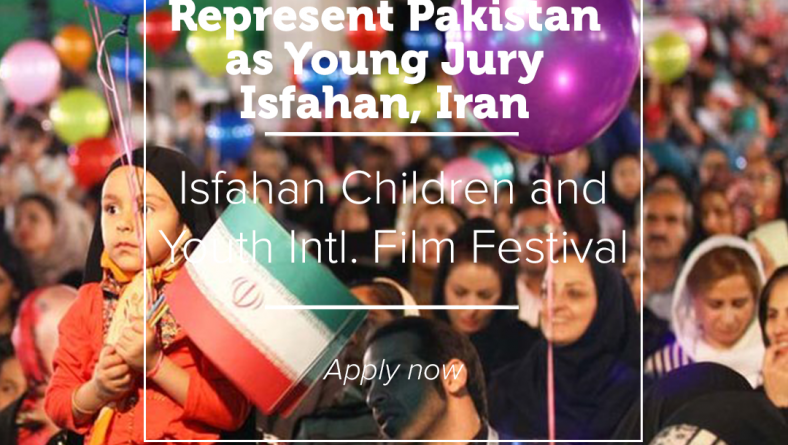 Represent Pakistan as Young Jury in 32nd Isfahan Film Festival, Isfahan, Iran