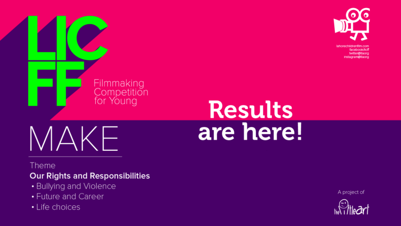 Results: LICFF Make – Filmmaking Competition for Young 2019