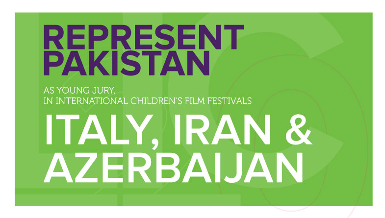 Represent Pakistan as Young Jury in Italy, Iran and Azerbaijan